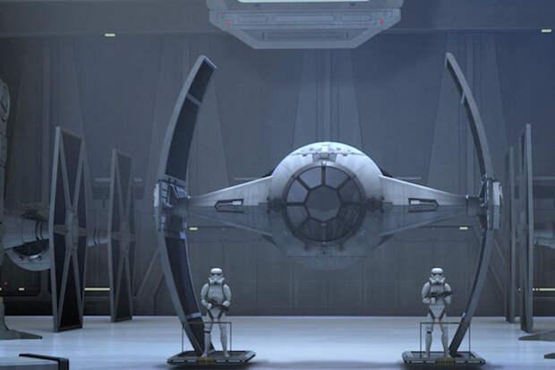 """Наш истребитель будет чем-то похож на этот корабль из """"Звездных войн"""", но станет более боеспособным. Фото: starwars.com"""