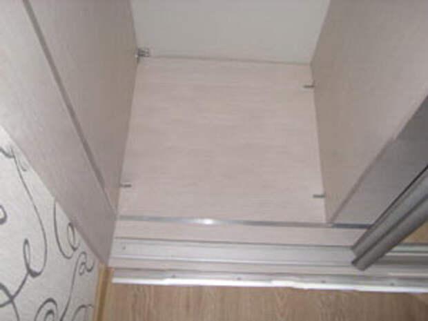 Нижняя направляющая раздвежной двери шкафа купе