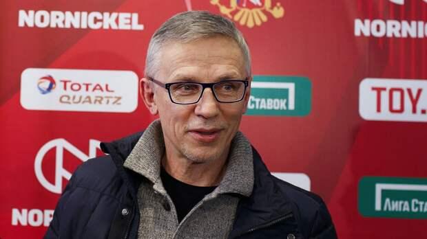 Ларионов: «Во втором периоде мы потеряли контроль над матчем. Хочется видеть более зрелую игру защитников»