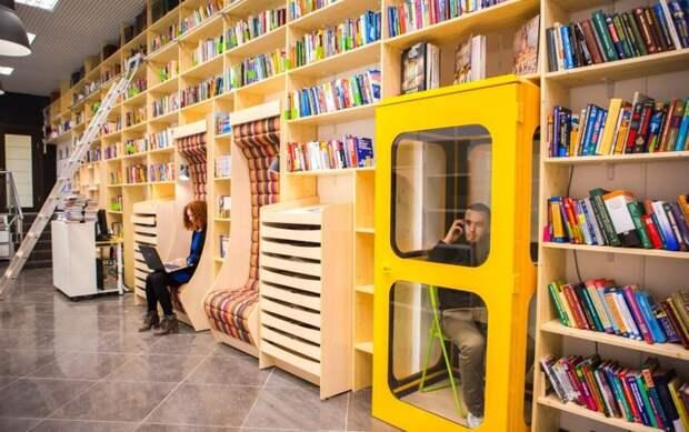 Читать книги – это модно! Бесплатная библиотека в Санкт-Петербурге, которая способна удивить Санкт - Петербург, библиотека, гоголь, интересное, книги, чтение