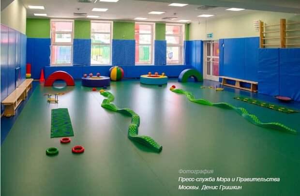 Собянин оценил итоги строительства уникального детского сада в Новой Москве / Фото: Д.Гришкин, mos.ru
