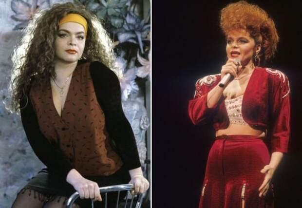 Лариса Долина в 1980-х и в 1990-х гг. | Фото: yapokupayu.ru