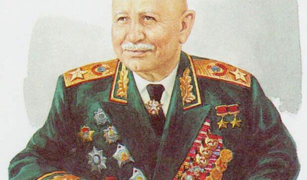 В парке Дружба в Ростове установят памятник маршалу Баграмяну
