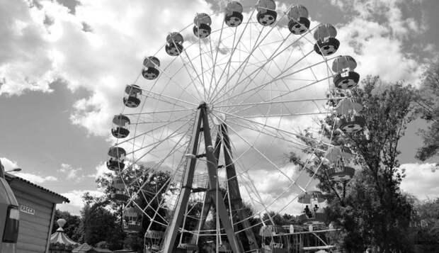 В Донецк везут новое колесо обозрения
