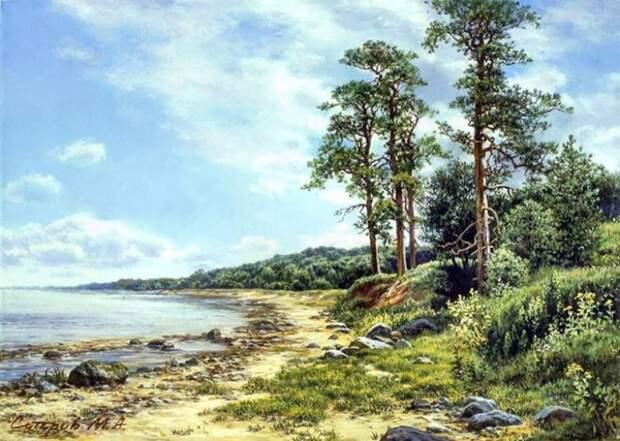 Пейзажи Михаила Сатарова