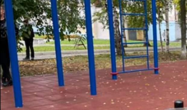 Новая воркаут-площадка появилась у медакадемии в Ижевске