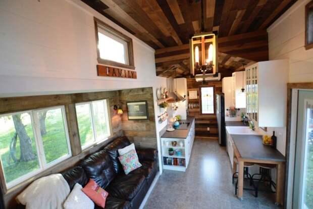 Строительство обошлось Тодду и Шари в 93000 долларов дом, жилье, идея, строитель, трейлер, фото