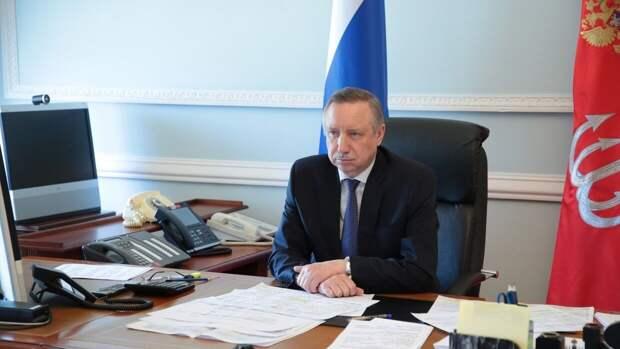 """Губернатор Петербурга резко ответил депутату """"Яблока"""" на вопрос о митингах"""