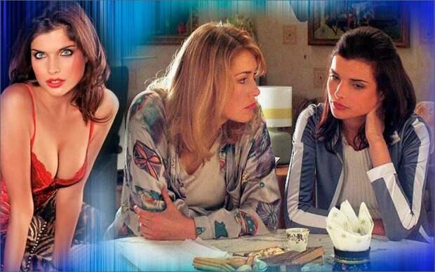 Коллаж автора - Анна Азарова с Марией Шукшиной в сериале «Дорогая Маша Березина»