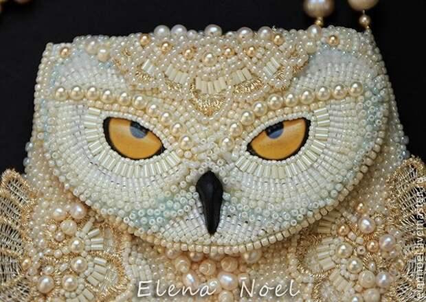 Великолепные совы от Елены Ноэль