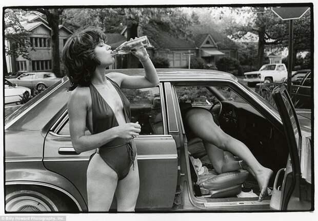 Молодежь того времени 80-е, сша, фотография