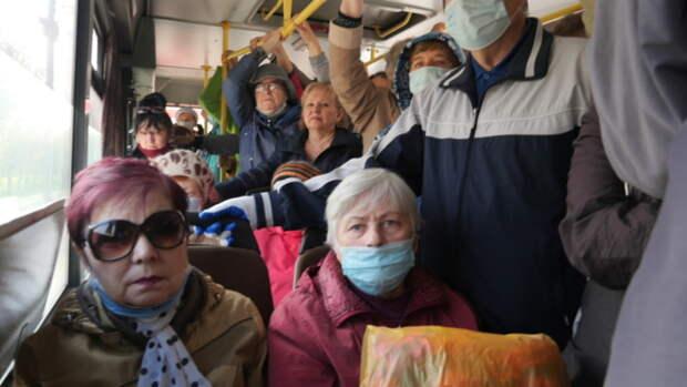 Такой день. Очереди на автобусы в Барнауле и выход из СИЗО Стеллы Штань