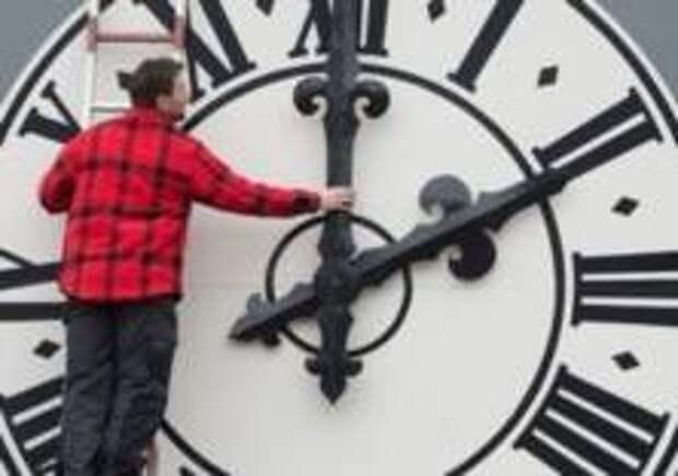 Европа отменила перевод часов