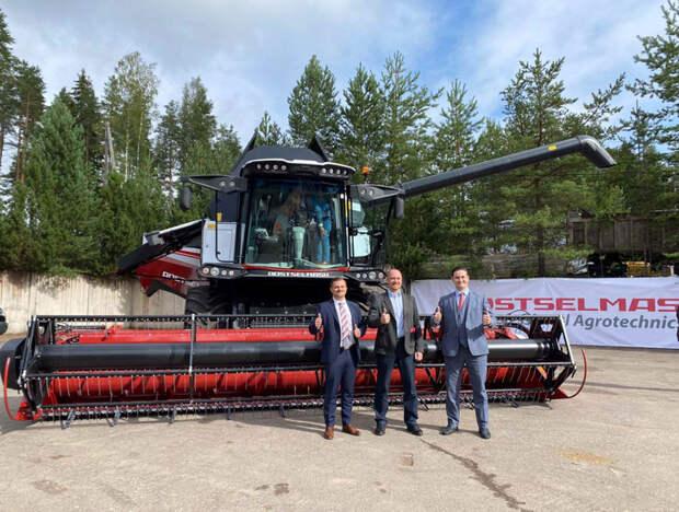 Надо же, сельхозтехника РФ уже покоряет и Финляндию!