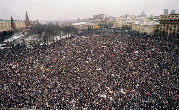 Вспоминая лихие 90-е. Развал СССР