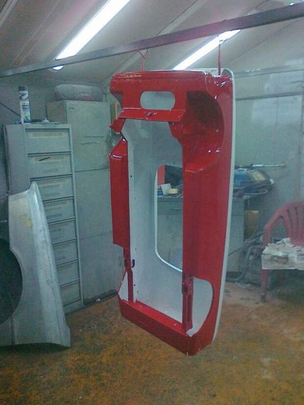Реставрация детской педальной машины «Москвич» (56 фото)
