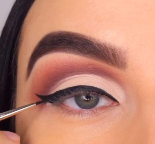 Как красить глаза правильно?