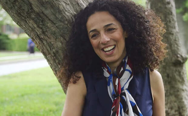 Masih Alinejad - иранская журналистка и активистка.