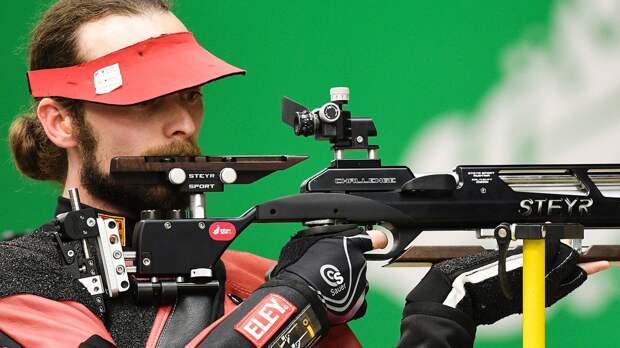 Мужская сборная России завоевала золото чемпионата Европы в командной стрельбе из пневматической винтовки
