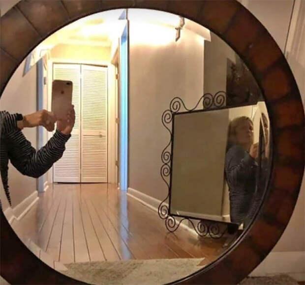 17 примеров, что как и в Средневековье, зеркала – это какое-то колдовство