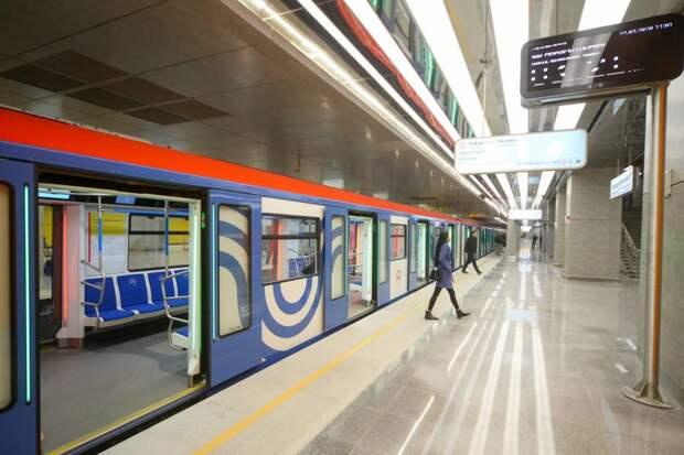Движение поездов в сторону станции «Строгино» ввели в график