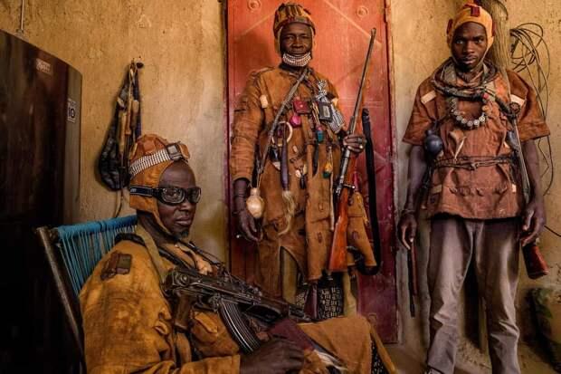 Ополченцы из Мали