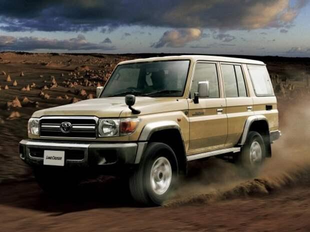Toyota возродила классический Land Cruiser 70-й серии