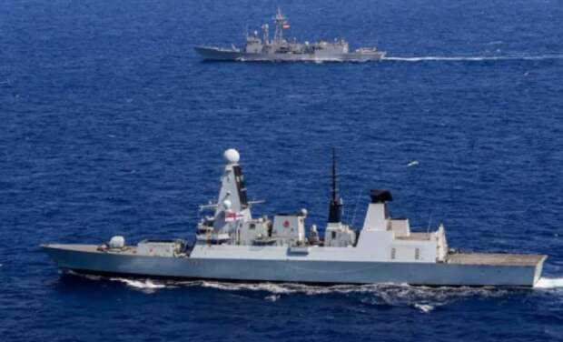 В Чёрное море вошли корабли НАТО