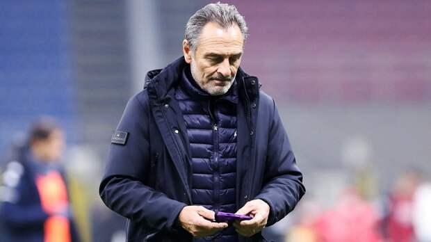 «Понимаю, это может стать концом моей тренерской карьеры». Пранделли назвал причину ухода из «Фиорентины»