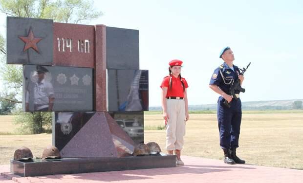 Состоялось открытие Памятника защитникам Сталинграда