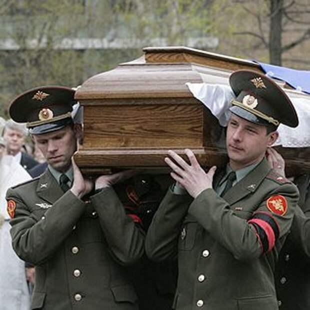 Минобороны предлагает вдвое сократить стоимость похорон президента РФ