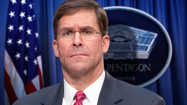 Марк Эспер, глава Пентагона США. Источник изображения: