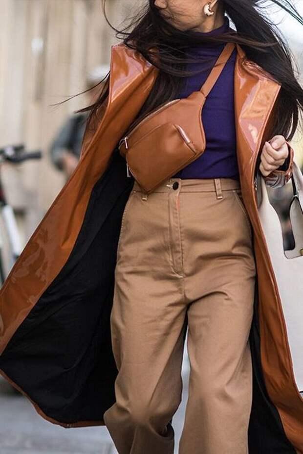 Аксессуар 90-х: 30 свежих способов, как и с чем носить поясную сумку
