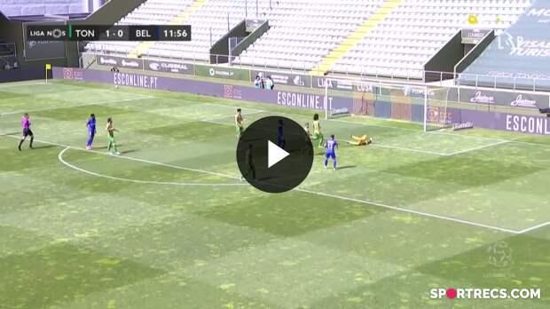 Highlights: Tondela None Belenenses SAD (Liga 20/21 #32)