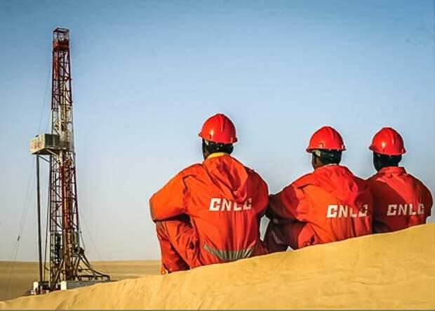 China dobicha neft oil gaz