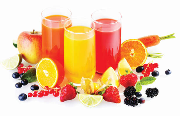 Сбор фруктов для фреша