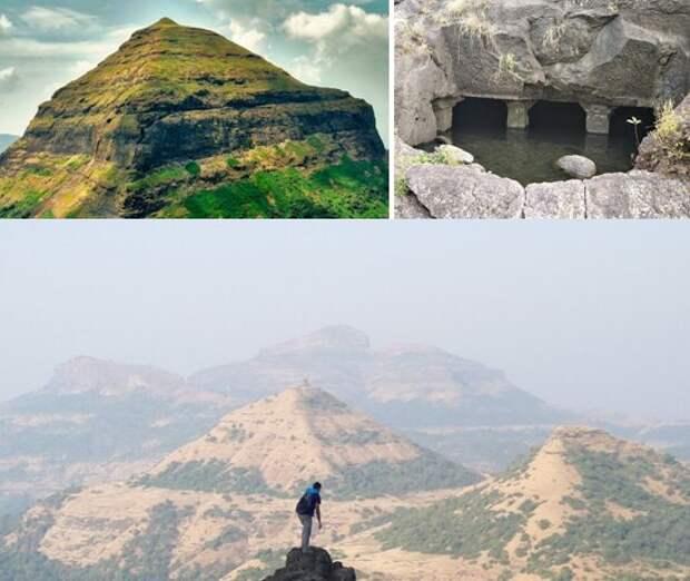 Другие пирамиды Индии. Коллаж автора