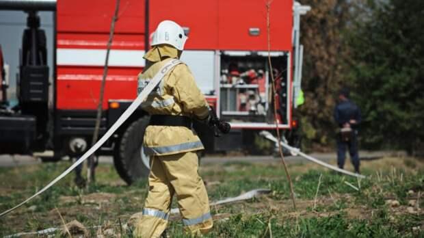 «Пламя было выше пятиэтажного дома»: очевидцы рассказали о пожаре на востоке Казахстана