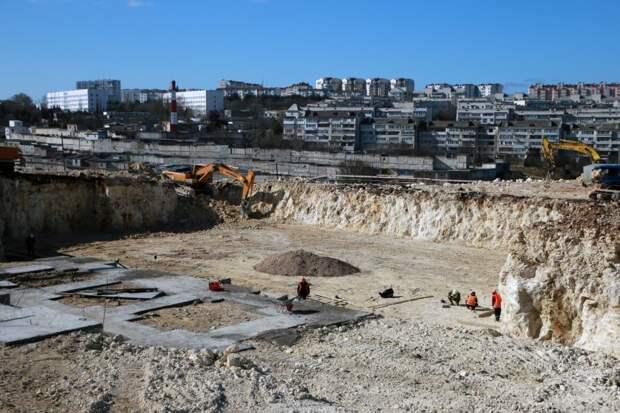 В Севастополе начали строить новую школу на 700 учеников