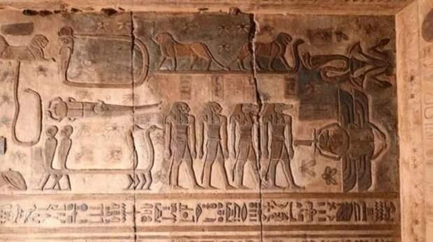 В древнеегипетском храме обнаружили неизвестные созвездия