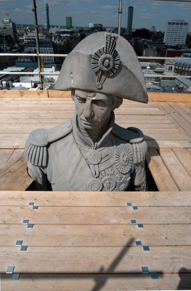 Адмирала бросают на заклание Политика, Новости, Лондон, Адмирал Нельсон, конфедератопад, снос памятника, рабство, длиннопост