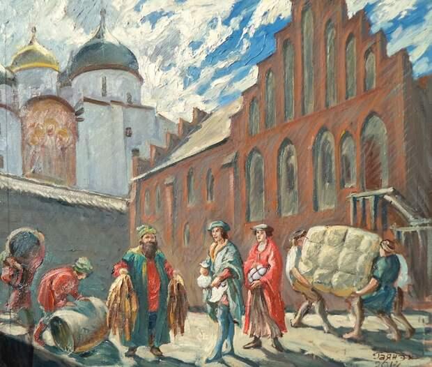 Новгородско-ливонская война (1443-1448): последняя частная война в Европе