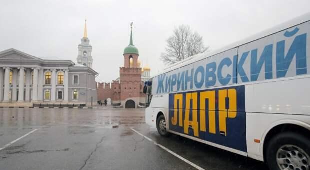 Автобус ЛДПР колесит по Тульской области