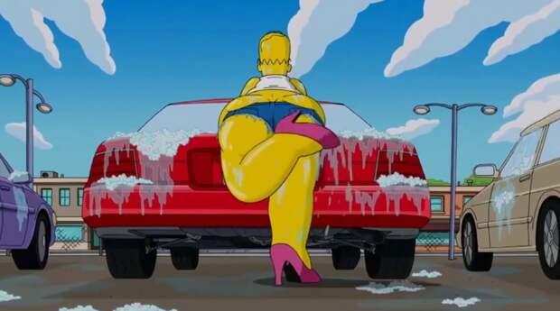 """10. Мойка автомобиля - одна самых сексуальных сцен во многих фильмах. Девушки в бикини моют машины - это уже никакой не стереотип, это реальность. Сегодня существует множество """"звездных моек"""", где участвуют модели-бикини и журнала """"Плэйбой"""" знаменитости, мойка машин, фото"""