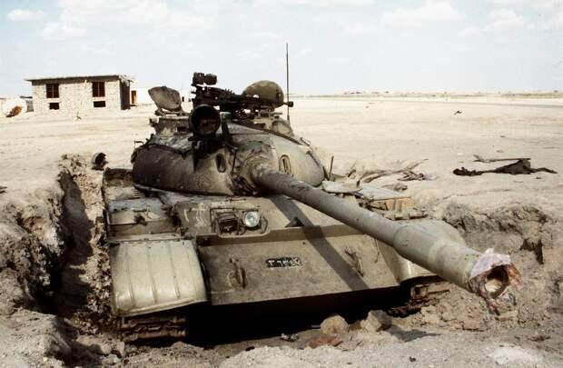 Лис пустыни — советский танк Т 55