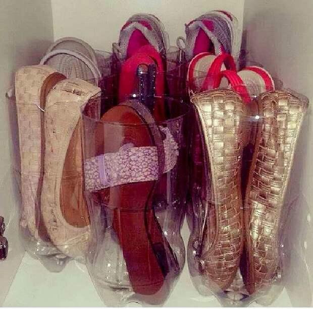 как хранить обувь дома