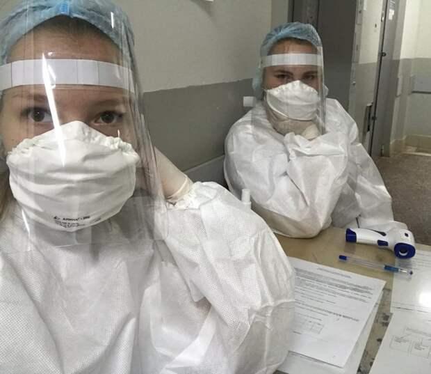370 студентов вышли на помощь медперсоналу в поликлиники Удмуртии