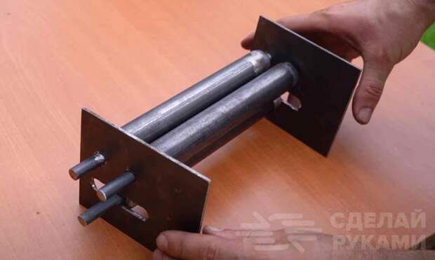 Как сделать мини прокатный станок для листового металла