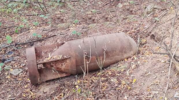 Спасатели обезвредили две авиационные бомбы времен войны в Подмосковье