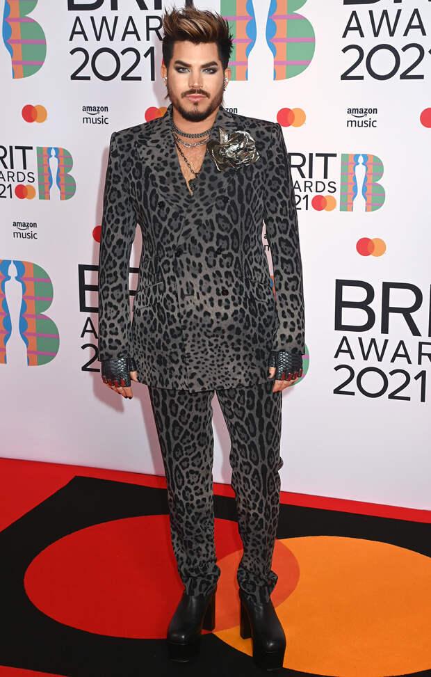 Адам Ламберт BRIT Awards 2021